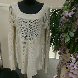 Kardashian Kollection Tunic Sweater